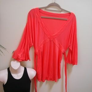 LULULEMON 2 tops Coral Tunic Top & Tank Small sz4